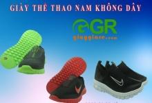 Giày Thể Thao Chạy Bộ Không Dây Nam Nữ Siêu Nhẹ Giá Rẻ