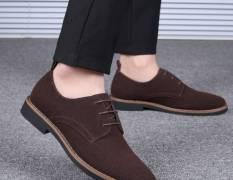 Giày Tây Da Lộn Big Size Thời Trang , Một Trong Những Đôi Giày Đáng Sở Hữu Nhất Của Phái Mạnh!!!
