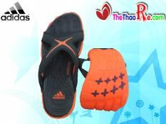 Dép Adidas Đế Cao Su Đen Đỏ DTC012 Giá Rẻ
