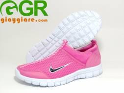 Giày thời trang thể thao nữ Super Trắng Hồng NN103