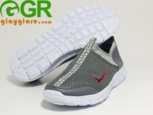 Giày thời trang thể thao Run Nữ Xám trắng NN107
