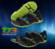 SANDAL XK NAM SIMPLY Size Lớn đen xanh chuối BVT821