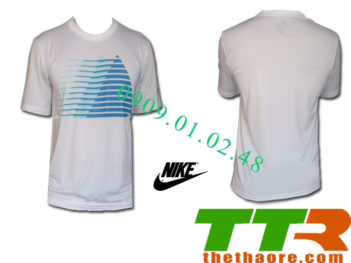 Áo Nike Dri Fit white clouds NDC444