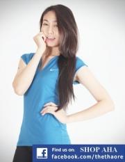 Áo Thể Thao Nữ Nike Xanh dương NK54