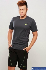 Áo Thể Thao Nike Không Cổ Xám TC052