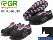 Giày Hama nữ chạy bộ Xám Hồng phấn HMN02