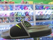 Dép Nike Bennsasi Black Green SHD63