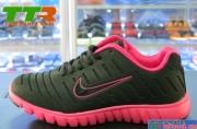 Giày Nike Super Light nữ Đen Hồng NK90