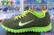 Giày Nike Super Light Nam Xám Xanh Chuối NK87