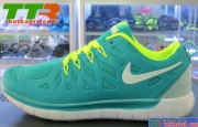 Giày Nike Run Free Beauty Nữ Xanh Lá Cây NN115