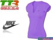 Áo Thể Thao Nữ Nike Tím nhạt ATT04