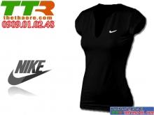 Áo Thể Thao Nữ Nike Đen ATT08
