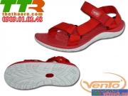 Sandal Mega XK Nữ Đỏ Trắng VT056
