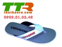 Dép Converse Trắng - Xám DCV003
