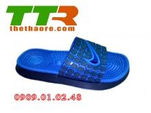 Dép Massage Nike đen xanh dương DMN001