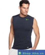 Áo Nike Gym Sát Nách xám ASN25