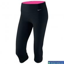 Quần lửng thể thao nữ Nike màu đen QTT10