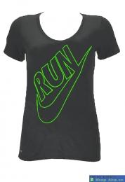 Áo thể thao nữ Nike Running xám ATT14