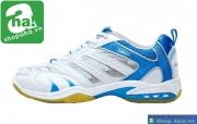 Giày cầu lông kawasaki trắng xanh dương CLK01
