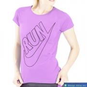 Áo thể thao nữ Nike Running tím nhạt ATT15