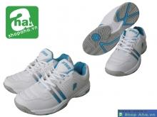 Giày tennis nữ Prince trắng xanh TNN021
