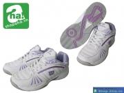 Giày tennis nữ Wilson trắng tím TNN023
