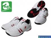 Giày tennis nữ Prince trắng đỏ TNN024