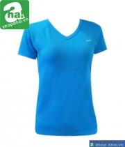 Áo thể thao thời trang nữ nike xanh AN218