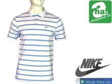 Áo Nike Golf Nam Trắng Sọc NGN12