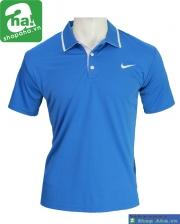 Áo thể thao tennis xanh dương AN046