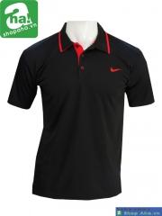 Áo thể thao tennis đỏ đen AN047