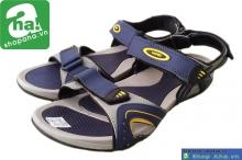 Dép sandal nam xám xanh đen SDN410