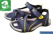 Dép sandal nam xanh vàng xám SDN411