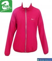 Áo khoác thể thao nữ đỏ thẫm AKN02
