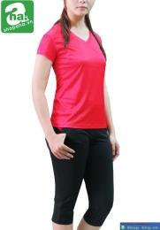 Áo thể thao nữ màu đỏ ATN100