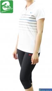 Áo thể thao nữ Nike golf trắng ATN104