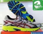 Giày Asics size lớn màu xám chuối GSL064