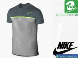 Áo Thể Thao Nam Nike Xám Viền Chuối ANN145