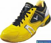 Giày Cầu Lông Nam Đen Vàng GGR013