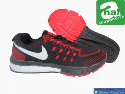 Giày Thể Thao Đen Đỏ NQ120