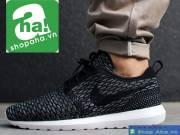 Giày Thể Thao Nam Đen Trắng GGR01