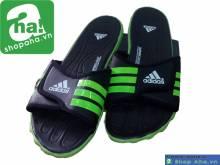 Dép Thể Thao Adidas Đen Xanh Chuối GAM04
