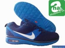 Giày Thể Thao Nam Xanh Dương GAN012