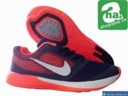 Giày Thể Thao Nữ Cam Trắng GAN010