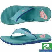 Dép Nike quai chéo xanh da trời PQT10
