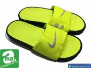 Dép Nike quai ngang xanh xám chuối PQT11