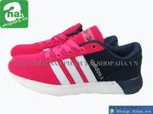 Giày Thể thao Adidas Nữ Đen Trắng LLĐ01
