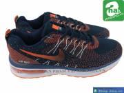 Giày Thể Thao Size Lớn Nike Air Đen Cam LLĐ03
