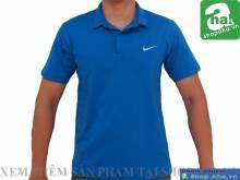 Áo Thể Thao Tennis Nam Xanh Dương AAT01