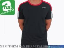 Áo Thể Thao Nam Nike Đen Đỏ AAT07
